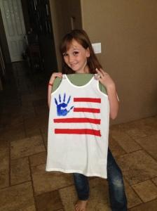 flag shirt