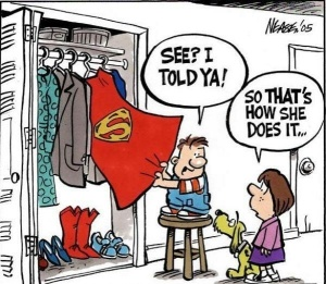All Moms are super!